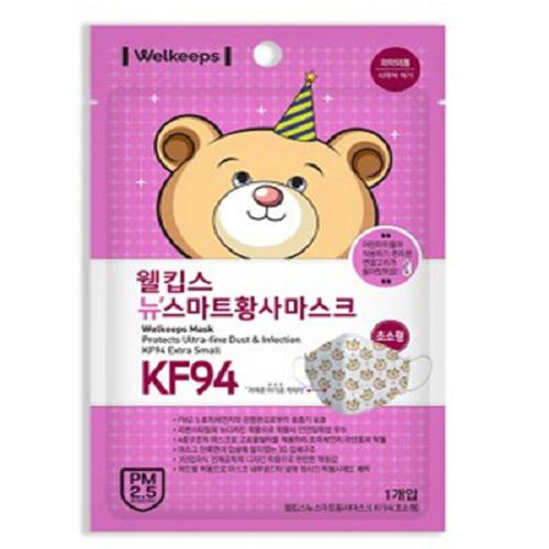 웰킵스 마스크 KF94 (초소형) 5매입, 5매