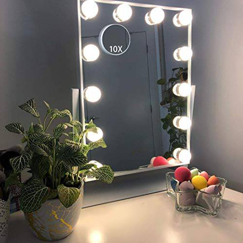 Hansong Large Hollywood Makeup Vanity Mirror with Lights Plug/9726412