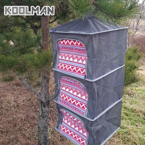 KOOLMAN(쿨맨) 다용도 캠핑 식기건조망 (고품질 메쉬), 1개, 건조망 그레이 C - 패턴형