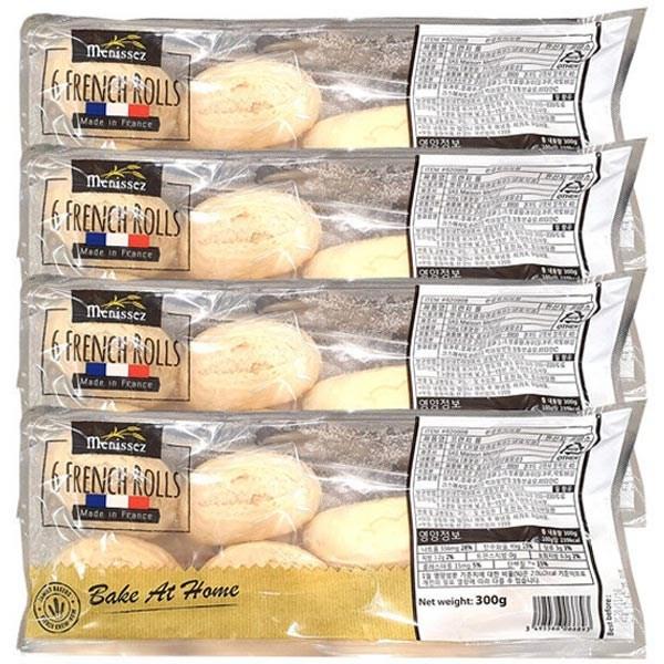 코스트코 미니 프렌치롤 생지 6개 x 4팩+아이스포장 바게트 빵 베이커리, 1개