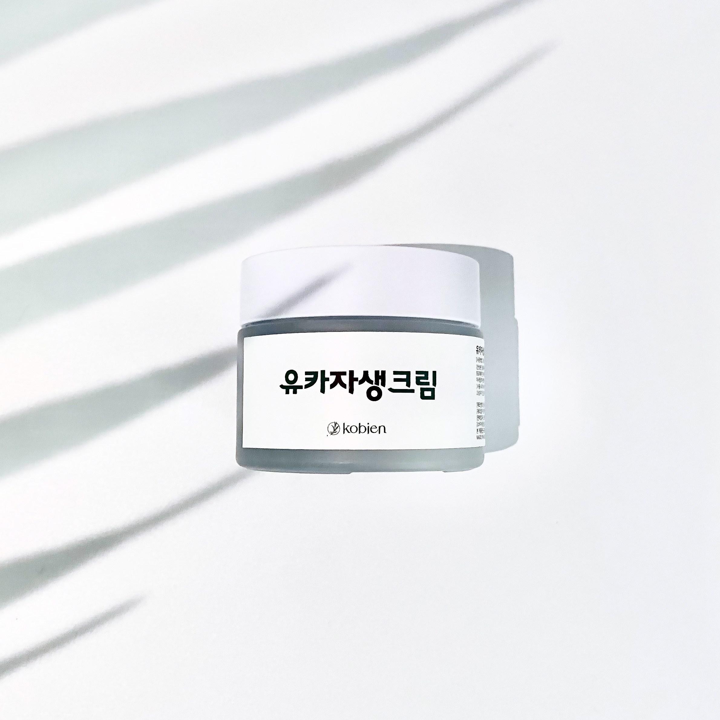 [코비엔] 유카자생크림 유황 시카 진정 아기보습 자생크림, 1개