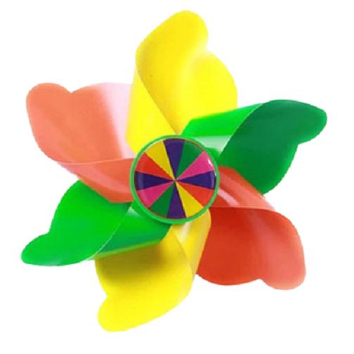 셀마켓 유아 킥보드 악세사리, 6. 노랑노랑바람개비(기둥형)