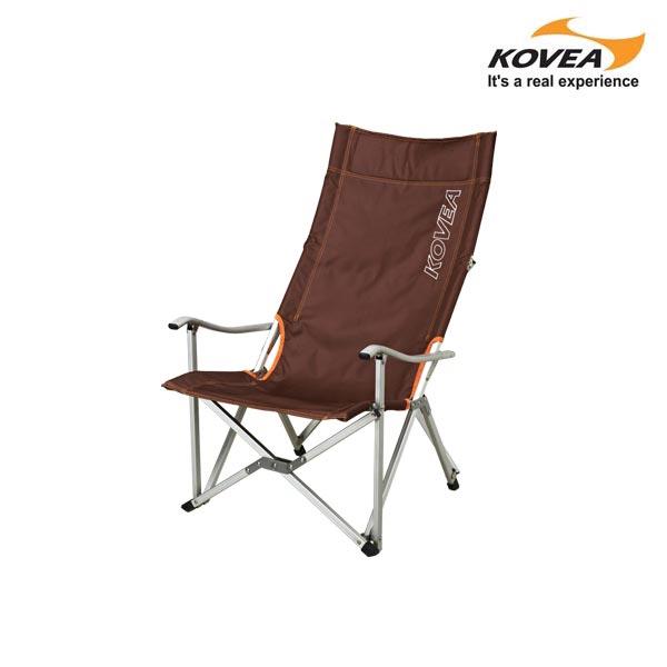 코베아 로우 롱 릴렉스 체어 의자 캠핑 용품, 브라운