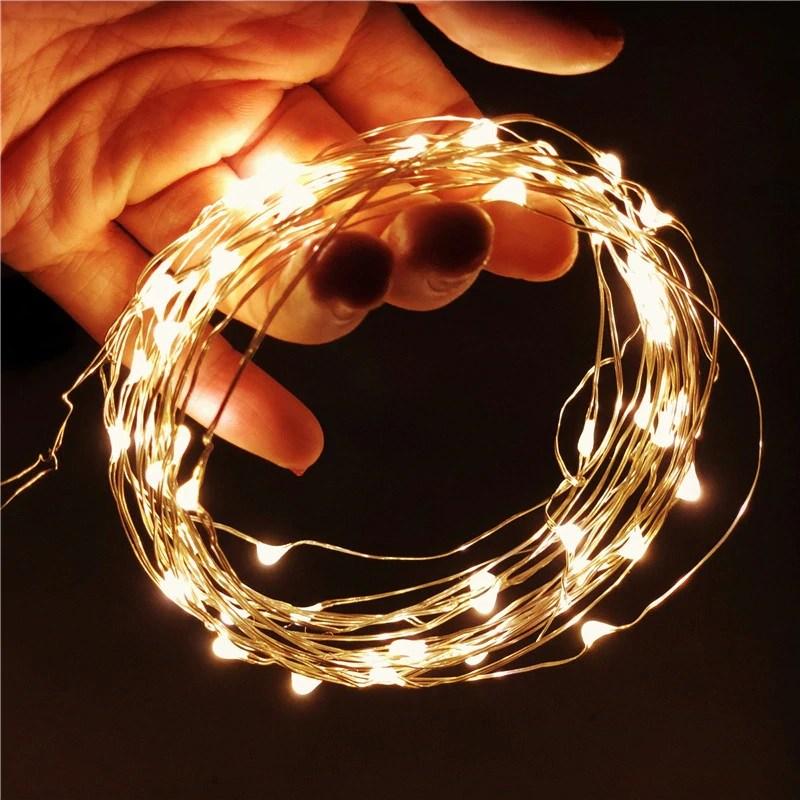 지아이비 LED 와이어 크리스마스 파티 캠핑전구 건전지형 모음, LED30구 와이어전구 수은전지형