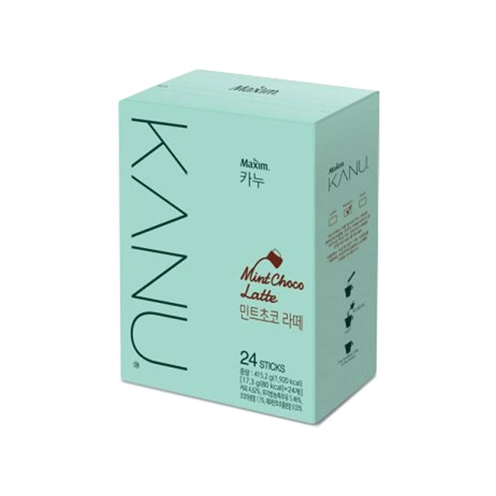 맥심 카누 민트초코 라떼 24T 민초라떼 KANU 커피, 단일상품