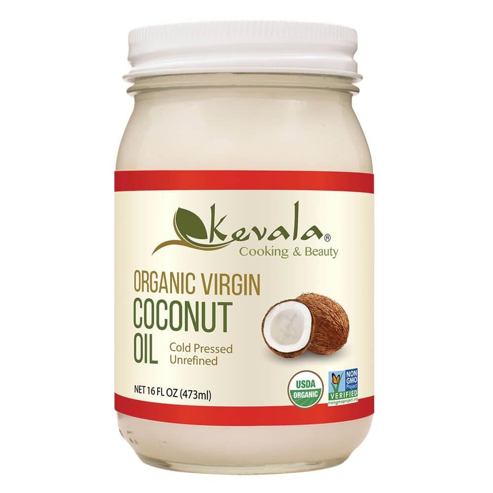 케발라 버진 코코넛 오일, 473ml, 1개