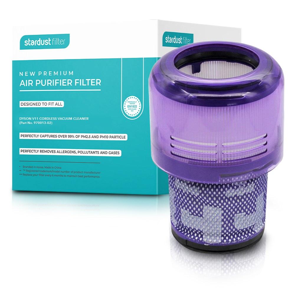 스타더스트 다이슨 청소기 V11 호환 교체 필터, 단품