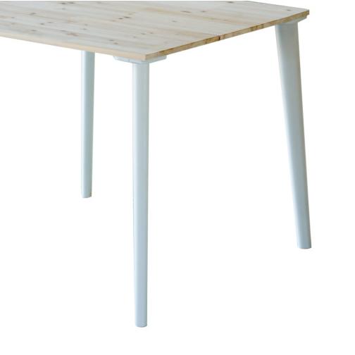 가구다리 소품용700 식탁다리 책상 홀 테이블 긴다리 높이조절 가구발 DIY, 소품용다리700[화이트]