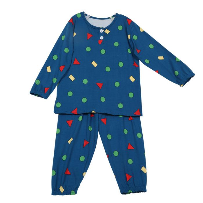아동 가울 겨울 긴팔도형잠옷 2탄 피치기모 시보리 잠옷