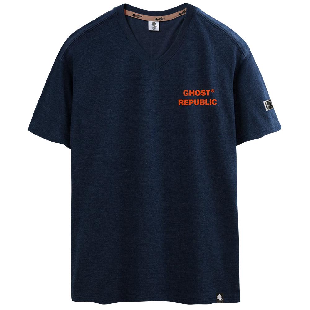 고스트리퍼블릭 남녀공용 베이직 브이넥 반팔 티셔츠 GT-374