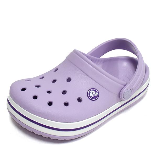 크록스 키즈 크록밴드 클로그 K 라벤더 아동 주니어 샌들 슬리퍼 아동화 신발 204537-5P8