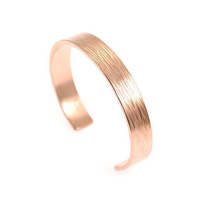 [꿈꾸는직구]W45226E 10mm 넓은 수염 구리 팔목 팔찌 John Brana 수제 보석 100 % Uncoated Solid Copper Cuff