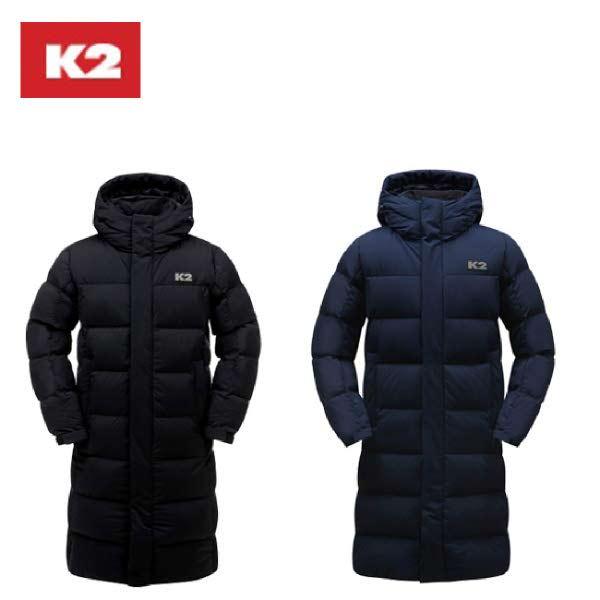 [현대백화점]K2(케이투) (KUW19597K) 남여공용 구스 롱다운 푸키롱 K2D1