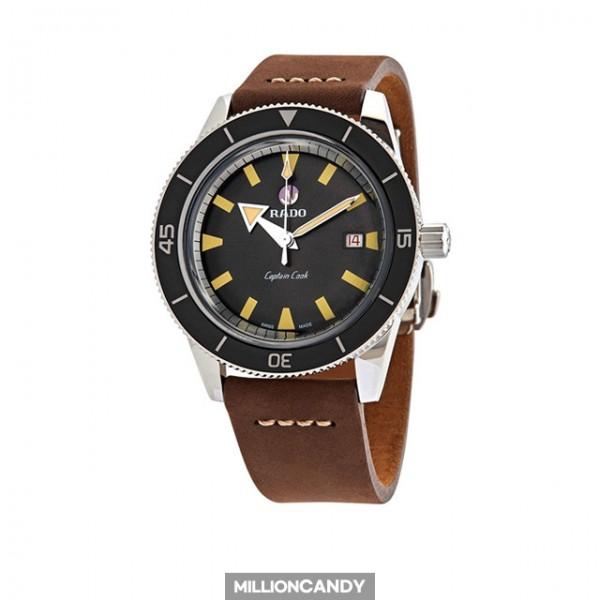 라도 캡틴쿡 오토매틱 브라운 레더 R32505305