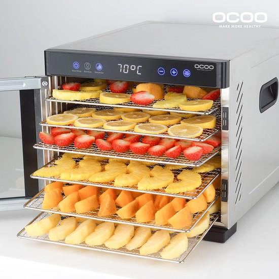 오쿠 UV 살균 6단 스텐 식품건조기 과일건조기 식기살균기 OCPUD660S 없음
