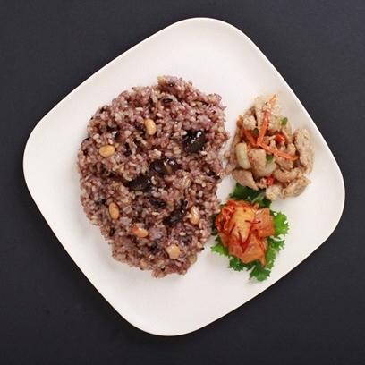 하이미소 맛있는 당뇨 혈당조절 건강식 다이어트 현미밥 식단 냉동 도시락 10팩 15팩 20팩, 250g