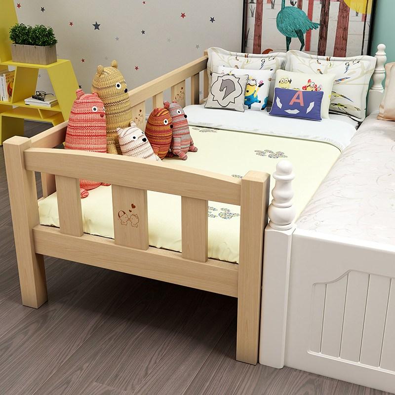 심플한 디자인 원목어린이침대 주니어침대 학생침대, 옵션1