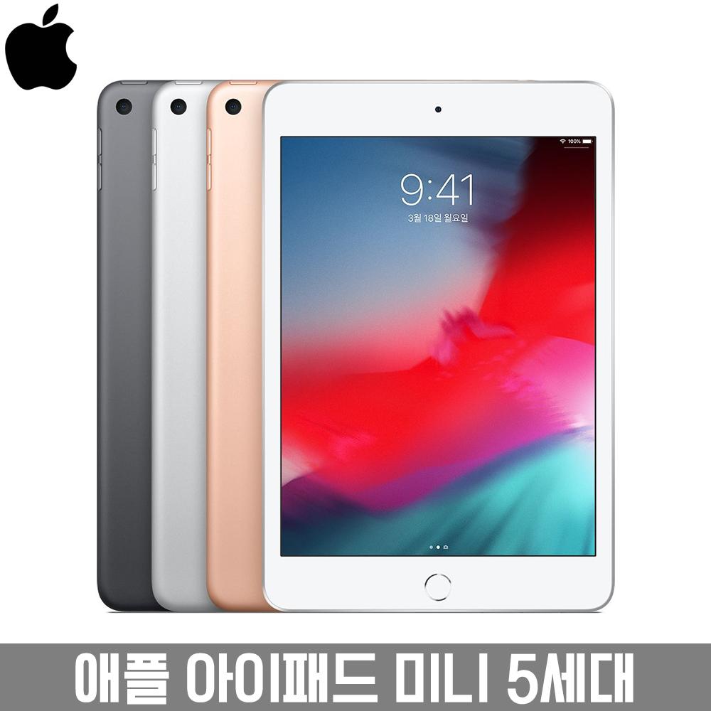 애플 아이패드 미니 5세대 IPad mini 7.9인치 A12 Bionic 관부가세포함 에어배송, 실버, 256GB LTE