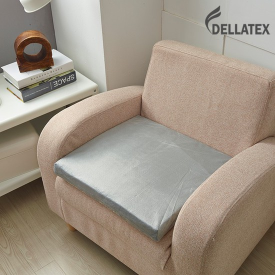 델라텍스 천연 라텍스 방석 겉커버 포함 5cm