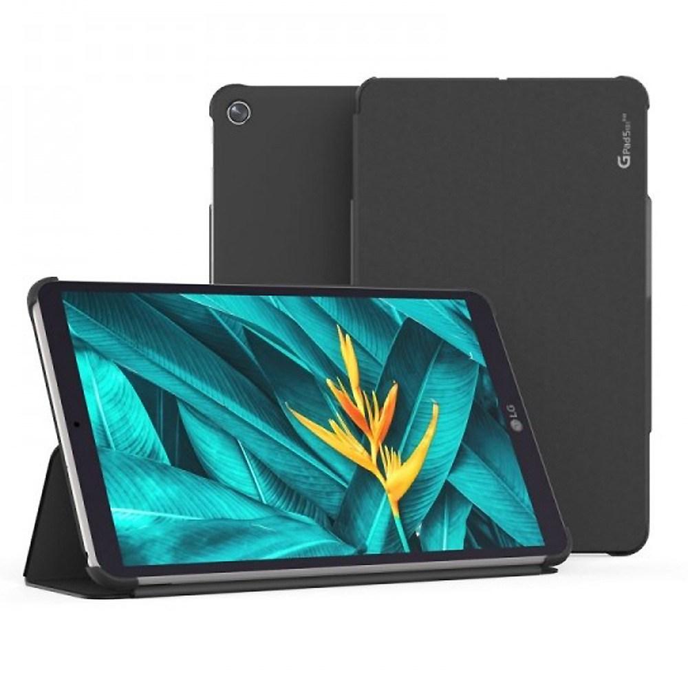 보이아 (터치펜증정) LG G패드5 10.1 플립커버케이스, 블랙