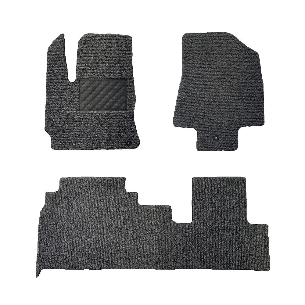 매트작업소 자동차 코일매트 20mm 확장형 한대분 카매트, 확장형 1+2열 한대분, 그레이