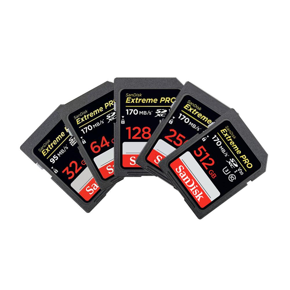 샌디스크 익스트림 프로 SD 메모리 카드 SDXXY, 128GB