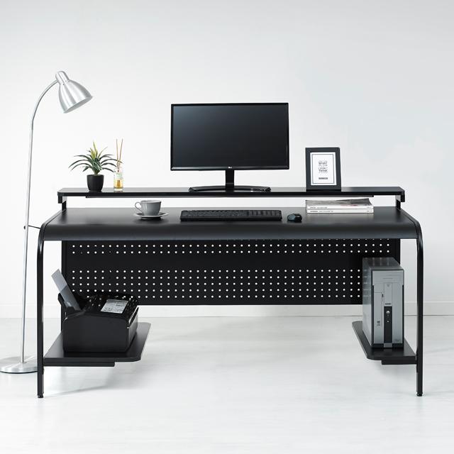 누마 델타B형 게이밍 컴퓨터 책상, 델타B형-1400/블랙