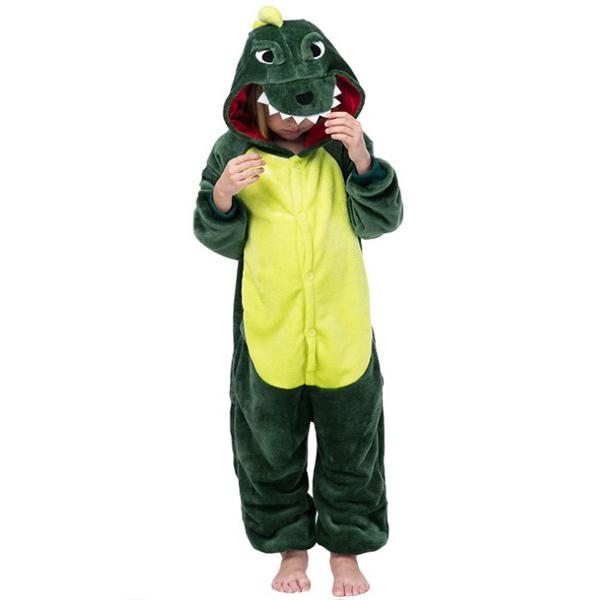 맘앤대디 어린이 동물잠옷 공룡 (녹색)