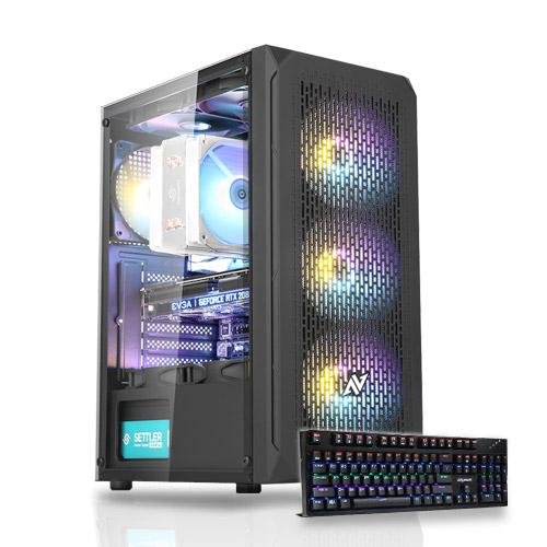 포유컴퓨터 MD추천 게임용에디션 인텔 AMD 조립컴퓨터PC, 에디션PC, 02번 에디션PC