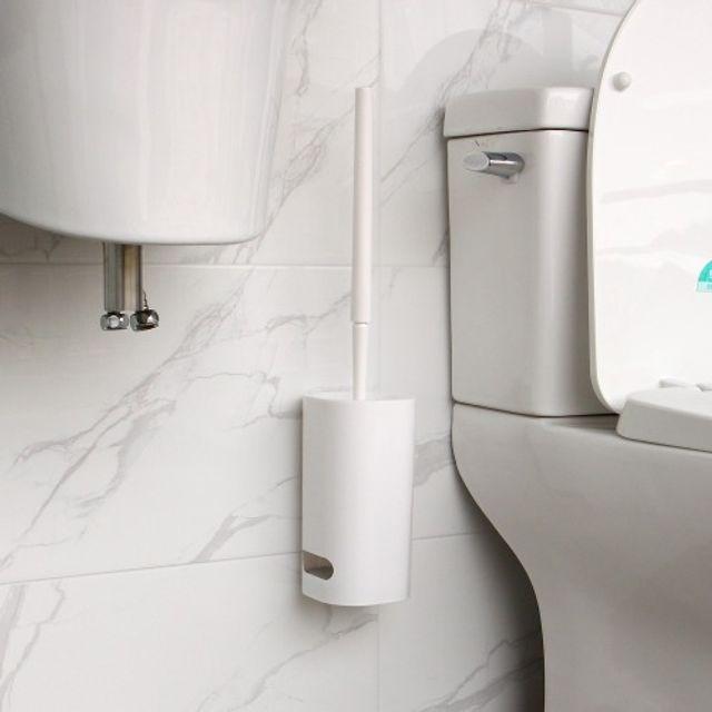 흡착식 변기청소솔 흡착식 변기청소솔 생활건강 욕실용품 욕실잡화 욕실청소용품 곰팡이제거제 깔끔대장 강력