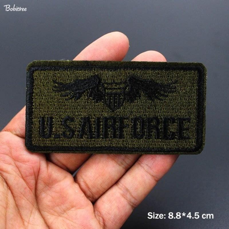 군패치 와펜붙이기 군복패치 육군 군사 자 수 철 봉 제 플래그에 미국 공군 육군 배지