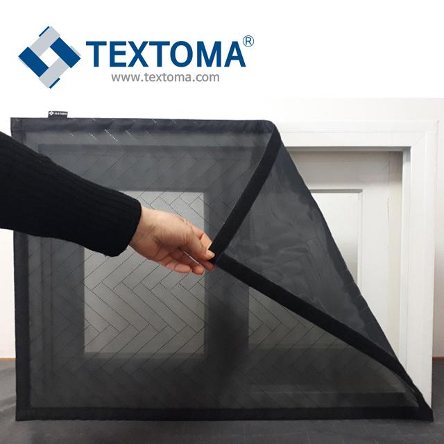 촘촘망 텍스토머 [밸크로 방진촘촘망] 사이즈 조절가능 벨크로 셀프 미세먼지 방충망 방진망 붙이는 교체 창문필터 DIY 시공 찍찍이, 1개