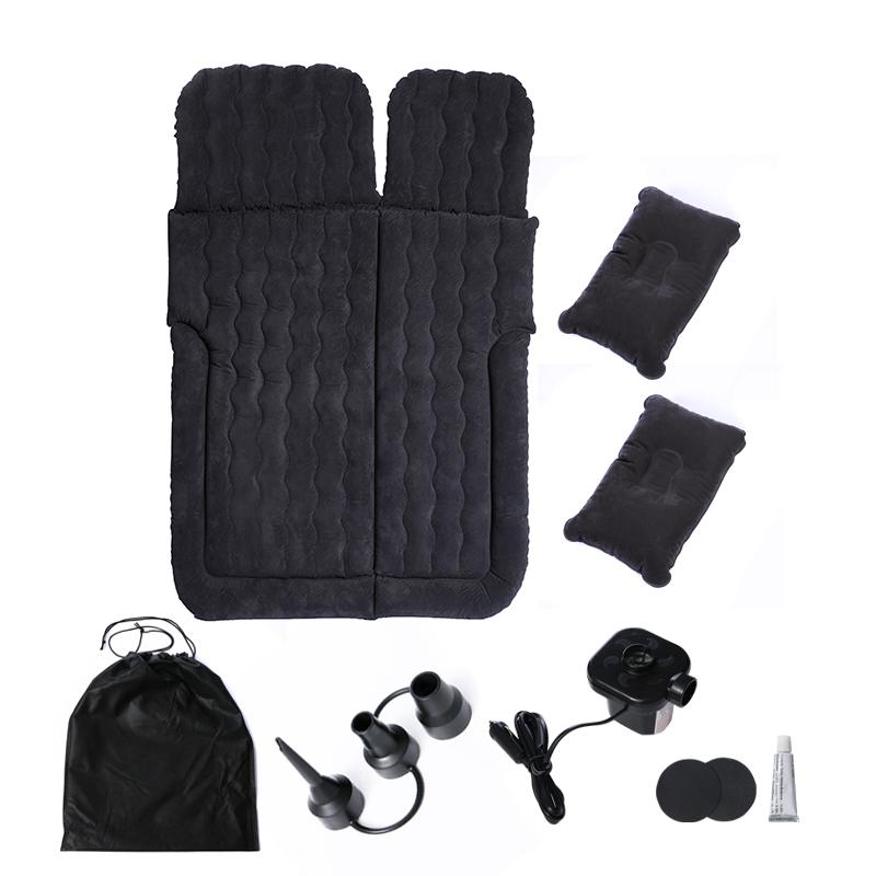 싼타페 차박매트 SUV 카니발 펠리세이드 트렁크 침대 에어매트 차박이불, 블랙