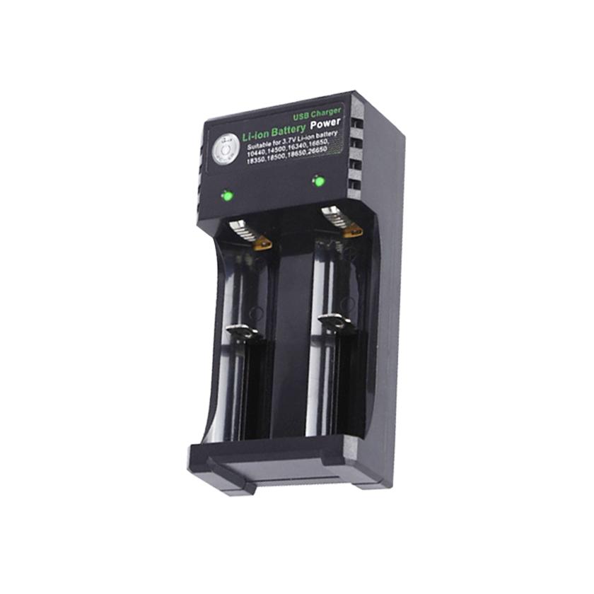 대륙의실수 2구 충전기 만능 고속충전기 배터리 리튬이온 건전지 충전지 급속충전, 1개