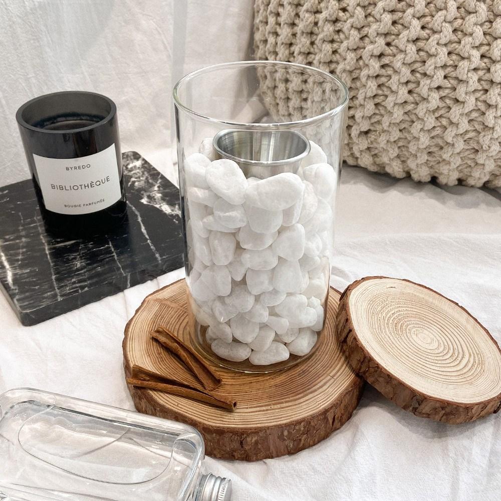 불멍 경수진 바이오 에탄올 화로 난로 가정용 에탄올 난로, 풀세트