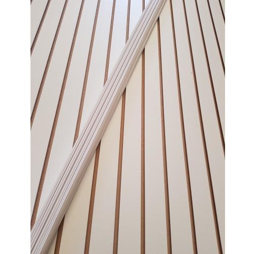 스페이스월 백색 (쫄대포함) 18Tx1220x2440mm DIY 목재 엠디에프 인테리어