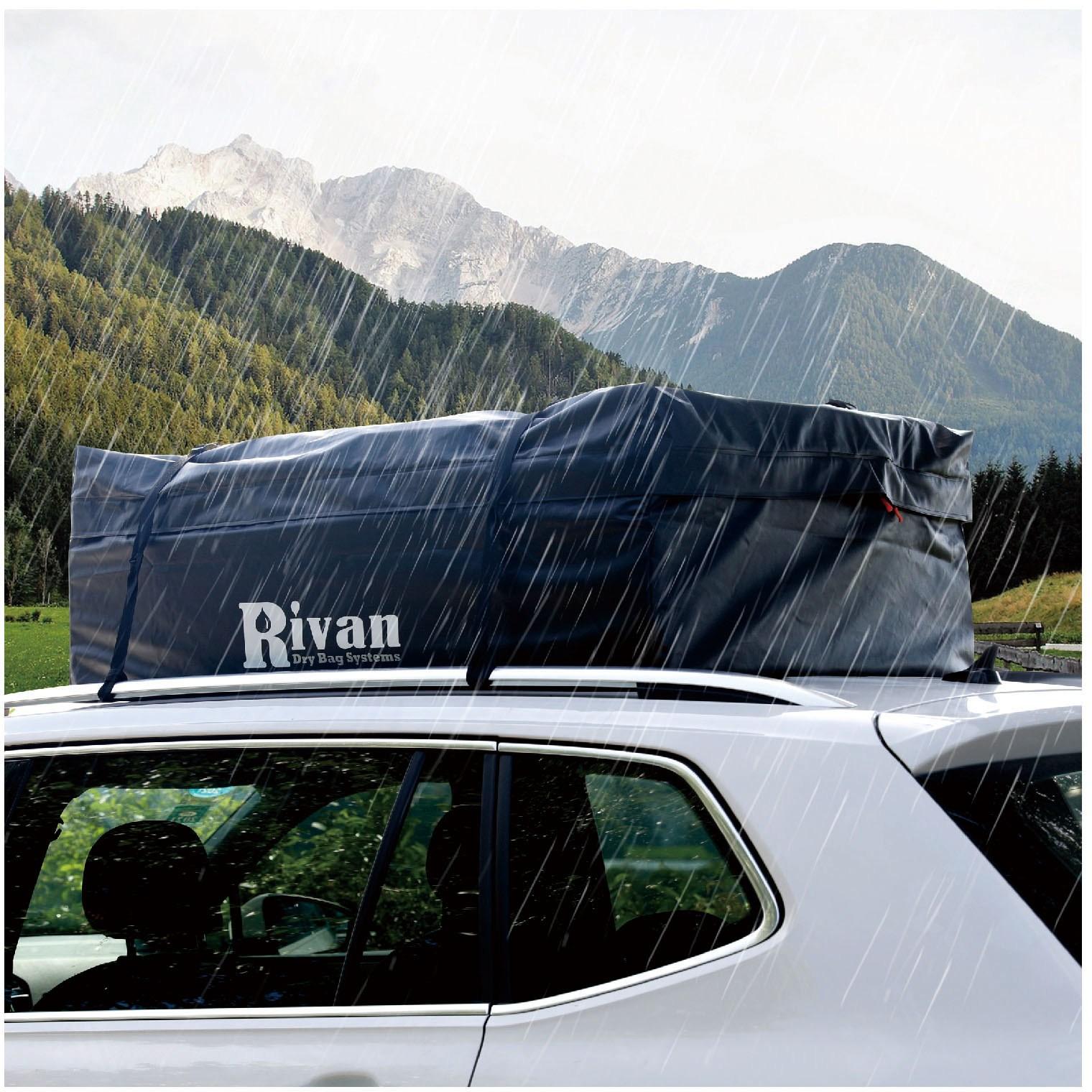 RIVAN 접이식 방수 루프박스 루프백 424L 짐승용량
