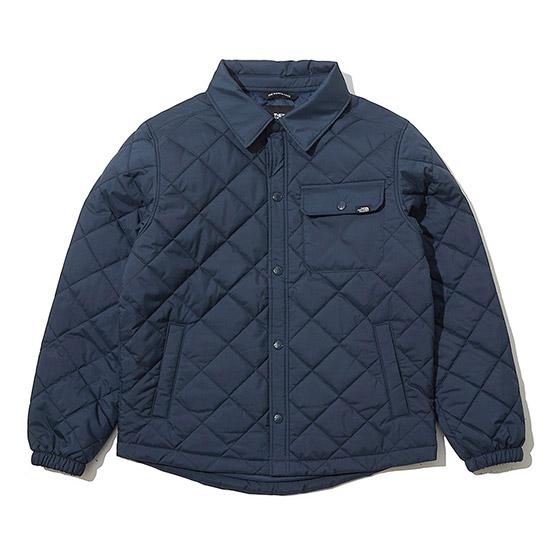노스페이스 아동 퀼티드 셔츠 자켓 NJ3NK57T_DNA