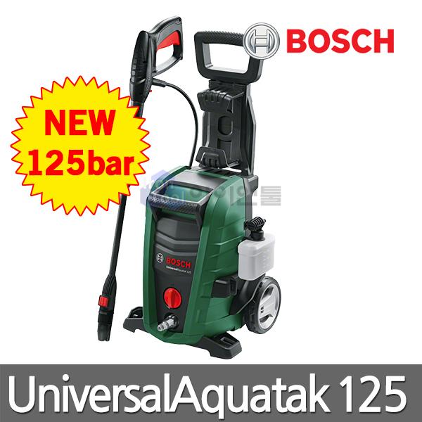 보쉬 고압세척기 UniversalAquatak125/125bar/가정용고압세척기/업소용고압세척기/베란다청소, 단일상품