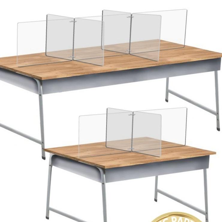 매니저 비대면 식당 책상 투명 위생 칸막이 4인 6인용 학교 교실 아크릴 가림막 비말감염 예방 아크릴판 음식점 학원 전용, 크기