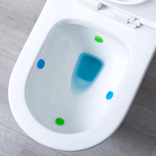 [요요중국]JUJIA3 화장실 꽃 젤 클리너 화장실 탈취제 2 팩 화장실 오염 제거 향수, 단일옵션, 단일옵션 (POP 4331672713)