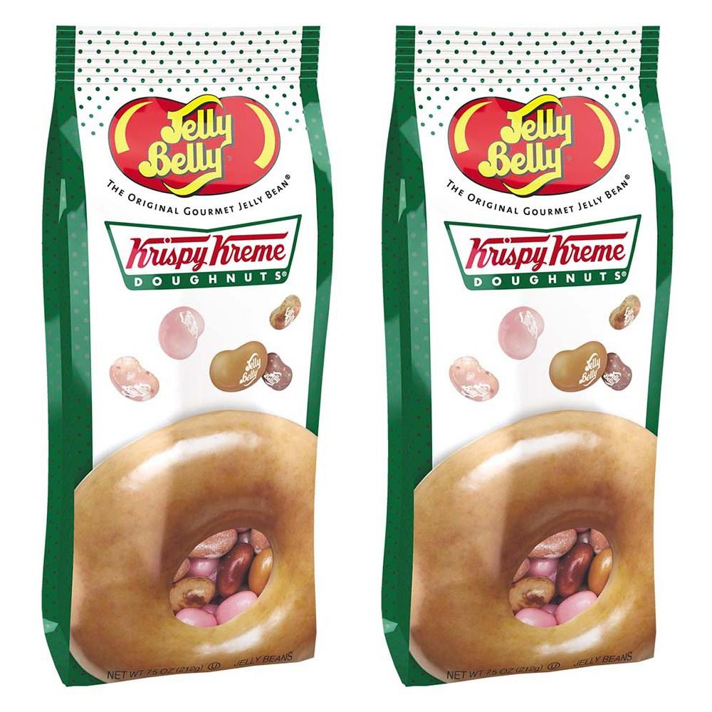 Jelly Belly 젤리벨리 크리스피 크림 도넛 젤리빈 믹스 7.5oz(212g) 2팩, 1개