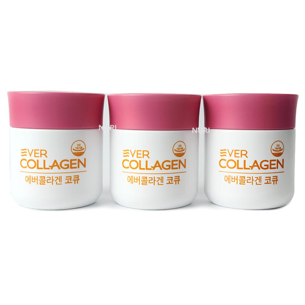에버콜라겐 코큐 600mg x3병(12주) 저분자콜라겐, 3box, 84정