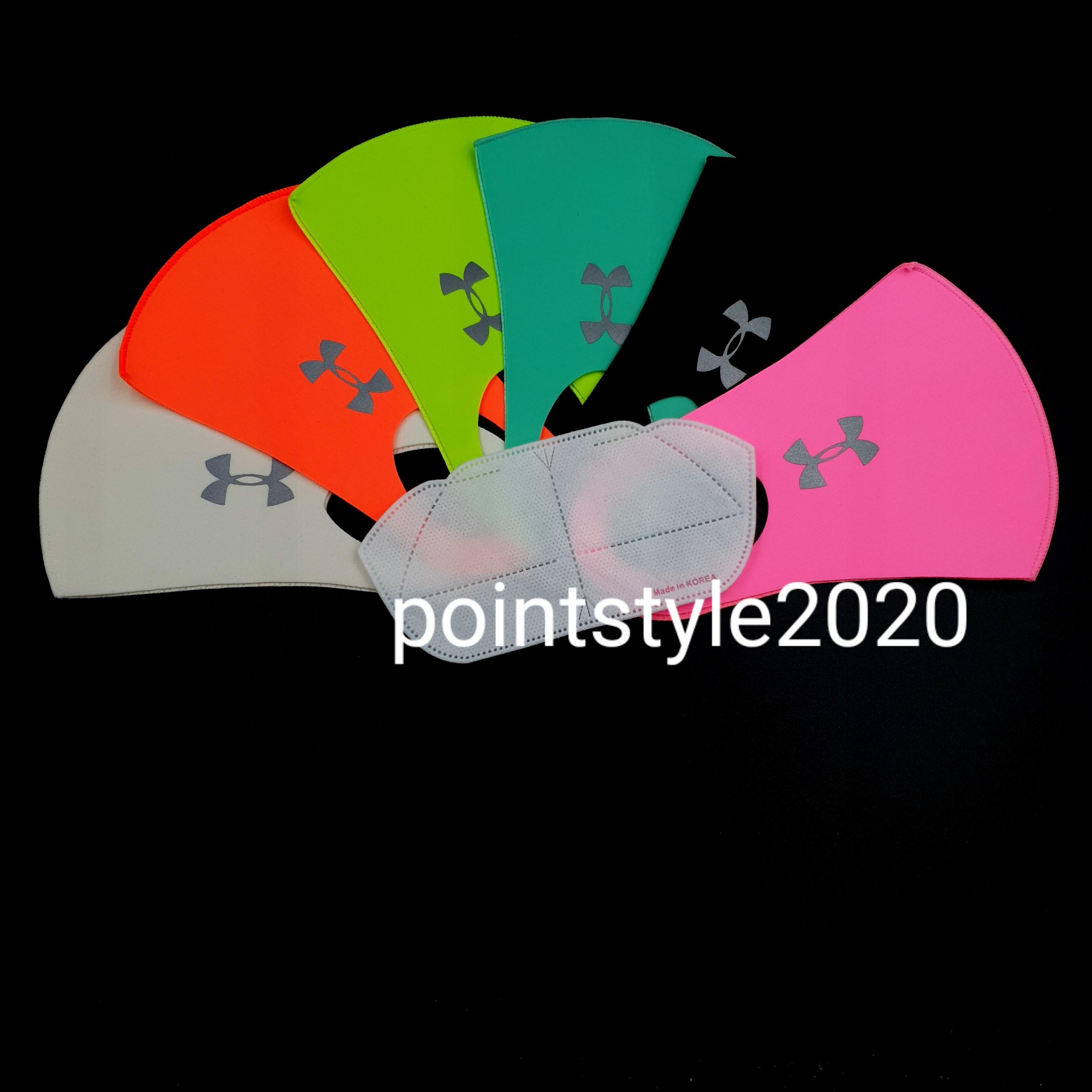 패션 UV차단 기능성 언더아머 간지마스크, 1개, 블랙, S