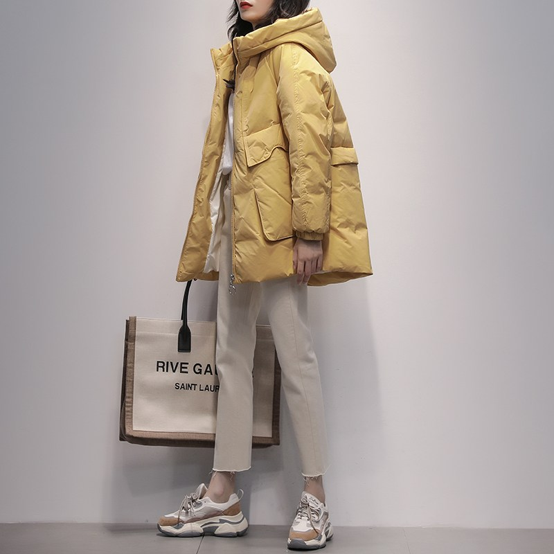 숏패딩 구스 역시즌 세일다운 재킷 여성 겨울 후드 패션 패딩 점퍼 코트