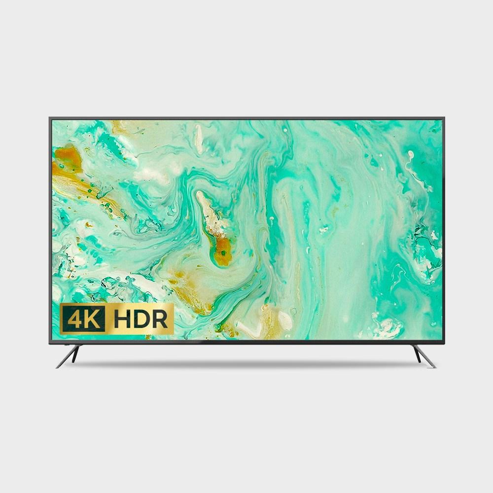 지스타 4K UHD TV 65인치 ZISTA 티비 무료배송, 65인치(지방_스탠드)1