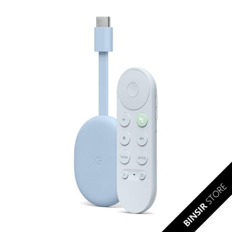 구글 TV Google Chromecast Google 스마트 TV 박스 프로젝션 4K 풀 Dolby, 하늘색 + 공식 표준