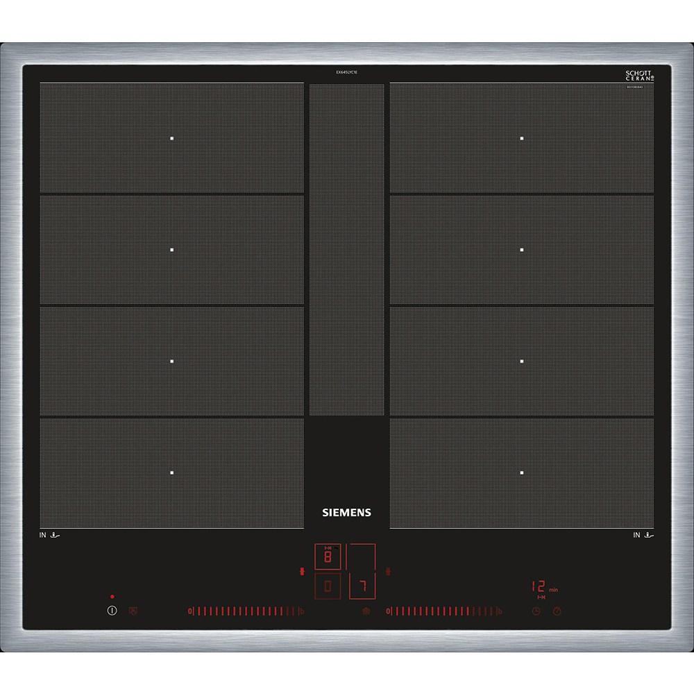 지멘스 인덕션 SIEMENS EX645LYC1E iQ700 듀얼라이트 프리존 플러스 관부가세 파손보험포함 전기레인지, 기본설치(차단기포함)
