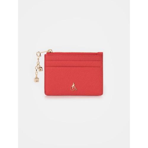 [빈폴ACC]20SS 루시 카드지갑 - Red(BE01A4T056)