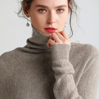 캐시미어니트 터틀넥 캐시미어 여성 슬림핏 동안 니트 이너 캐시미어스웨터 긴팔 짧은타입 가을겨울옷 털옷